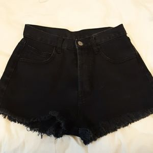 brandy black shorts
